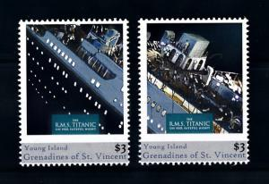[90806] Young Isl. Gren. St. Vincent 2011 Ships Titanic  MNH
