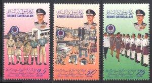 Brunei 1996 Scott #490-492 Mint Never Hinged