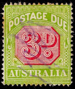 Australia Sc J42a 1916, uf, perf 14