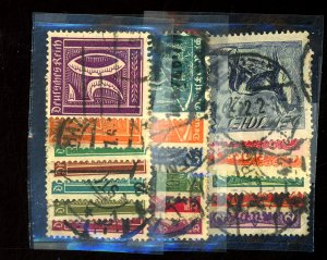 Germany #137-55 Used FVF Couple TIny Defects Cat$61.25