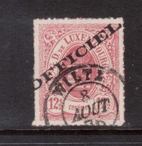 Luxembourg #O4 VF Used With Choice Cancel