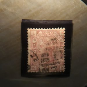 GB 67 pl 17  1876  used vf