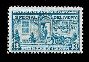 US 1922 Sc# E 17 -13 c Special Delivery - Mint LH - Crisp Color - Centered