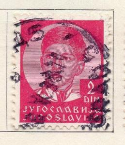 Yugoslavia 1935 Early Issue Fine Used 2d. 086699