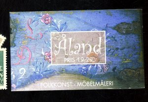 ALAND ISLANDS #152-55A MNT BOOKLET VF Cat $9