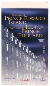 Canada - 2004 University of PEI Booklet #BK291b