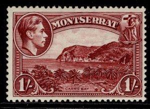 MONTSERRAT GVI SG108, 1s lake, LH MINT. Cat £30. PERF 13