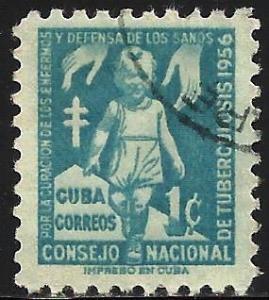 Cuba Postal Tax 1956 Scott# RA32 Used