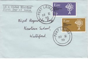 Ireland # 277-278, Nature Conservation, First Day Cover