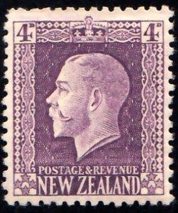 New Zealand Scott 151 Unused hinged.