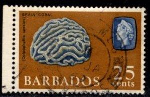 Barbados - #276 Brain Coral - Used