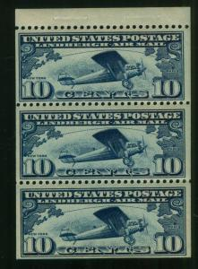 U.S. - C10a - Booklet Pane - Never Hinged (catalog value 110.00)