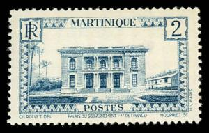 Martinique 134 Unused (MH)