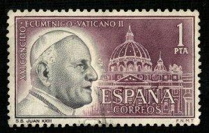 Spain, 1 Pta (2951-т)
