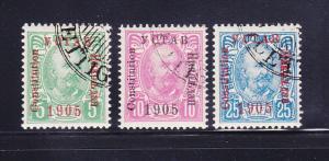 Montenegro 68-70 U Prince Nicolas I
