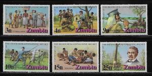 Zambia 99-104 1973 Livingstone set NH