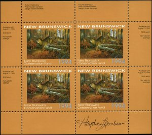1994 New Brunswick White Tail Deer Wildlife by Lambson