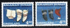 Greenland #342-3  MNH  CV $4.50  (Z9874)
