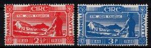 Ireland - Sc133-134 Charles Stewart Parnell and Michael Davitt mint - CV $8.50
