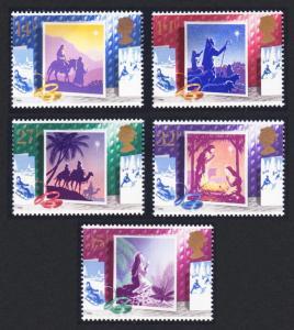 Great Britain Christmas Cards 5v SG#1414-1418 SC#1234-1238