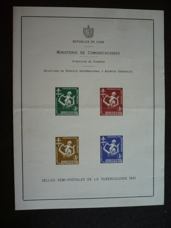 Stamps  - Cuba - Scott# RA15a - Mint Hinged Post Office Announcement