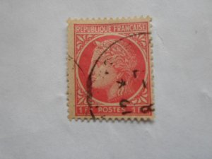 FRANCE STAMP USED VG CON. SC# 532