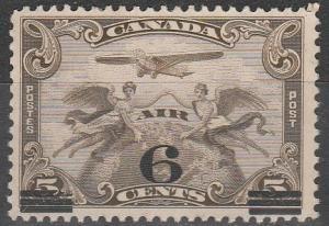 Canada #C3 F-VF Used CV $4.00  (S291)