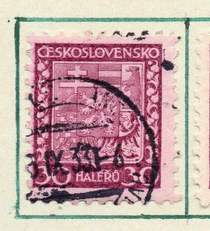 Czechoslovakia 1929 Early Issue Fine Used 30h. 230266