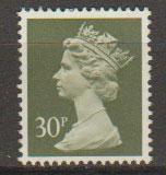 GB Machin  SG X980  30p  phosphorised paper  Harrison  no obvious postal canc...
