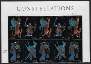 Catalog #3945 48 Plate Block of 8 Constellations Orion Lyra Leo Pegasus