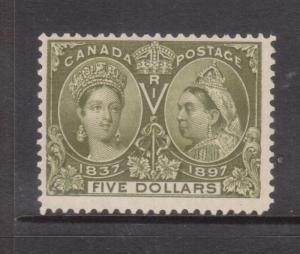 Canada #65 Mint Unused With No Gum