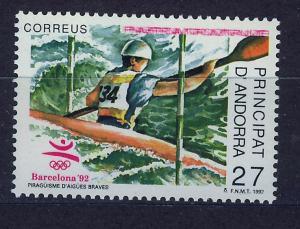 ANDORRA SPANISH 1992 MNH SC.219 Olympic Games Barcelona