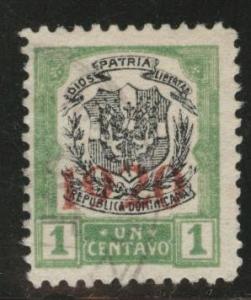 Dominican Republic Scott 221 used 1920  stamp