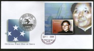 Micronesia 2004 Deng Xiaoping Chinese Leader Sc 593 M/s FDC # 16573