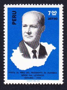 Peru Hungarian State Visit 1v SG#1327