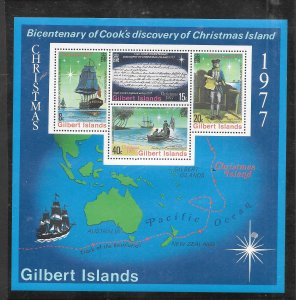 Gilbert & Ellice Islands #303A MNH Souvenir Sheet