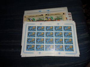 UNITED NATIONS FULL SHEET COLLECTION, MNH, OG