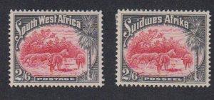 Southwest Africa - 1931 - SC 117a-b - MH
