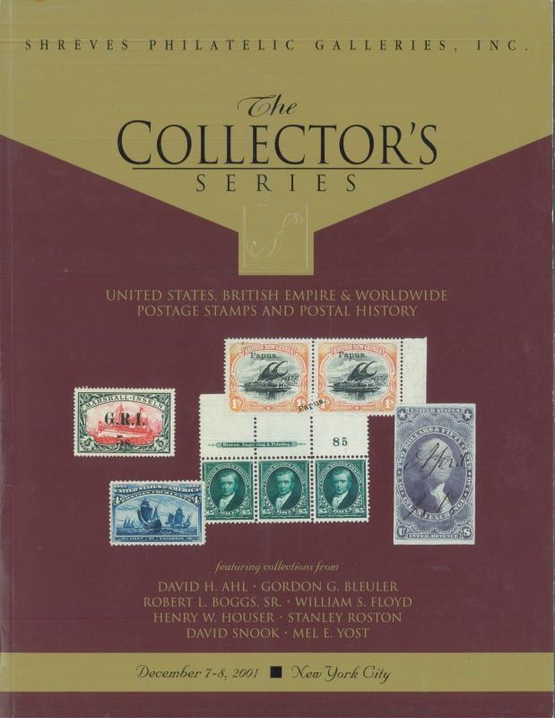 Lot of 5 Shreves Philatelic Galleries Collector Stamp