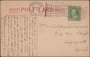 United States, Illinois, U.S. Flag's, Picture Postcards