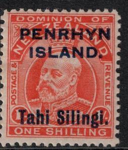 Penryn Island 1914-1915 SC 16 Mint SVC 50.00 Stamp