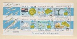 Tristan Da Cunha Scott #796 Stamps - Mint NH Souvenir Sheet