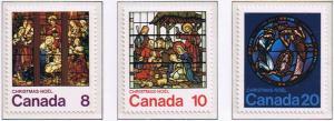 Canada Mint VF-NH #697-699 Xmas