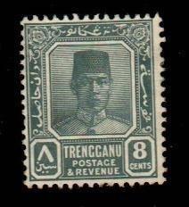 Malaya - Trengganu #28  Mint  Scott $42.50   No Gum