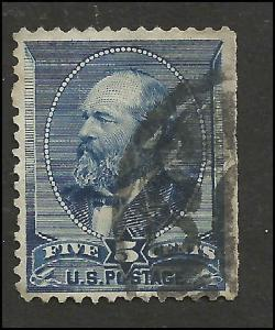 # 216 Indigo Used Double Or Shifted Transfer James A. Garfield