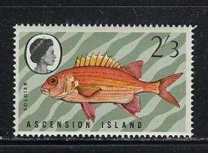 Ascension 133 never hinged 1970 issue