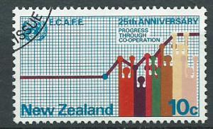 New Zealand SG 1002 Fine Used