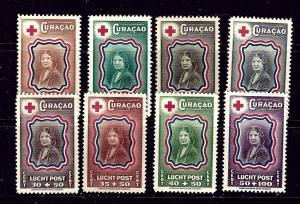 Netherlands Antilles CB13-20 MH 1944 Princess Juliana