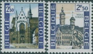 Belgium 1971 SG2240-2241 Tourist Publicity set MNH