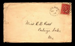 1905 Nelson MAN Short Lived DPO Cover - L27815